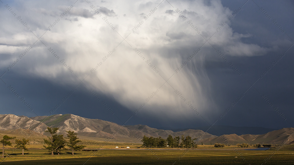 Mongolsko - region Khuvsgul